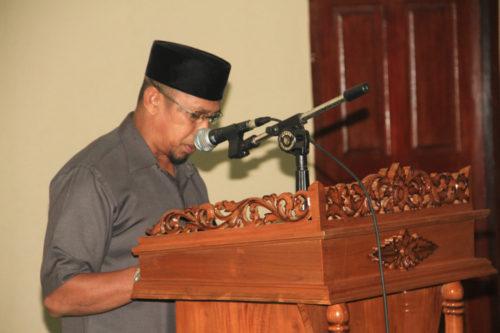 H.Ambok T.Syamsirwan dari Fraksi Persatuan Kesejahteraan Bangsa