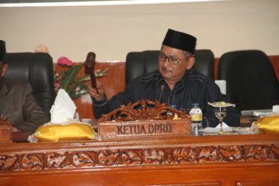 Ketua DPRD, Riono