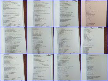 Kumpulan puisi di buku Suara Pemuda Satu