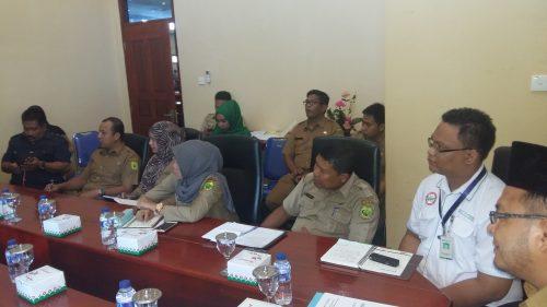 Komisi III DPRD Lingga melakukan Rapat Dengar Pendapat (RDP) dengan Dinas Kesehatan Pengendalian Penduduk dan Keluarga Berencana Kabupaten Lingga