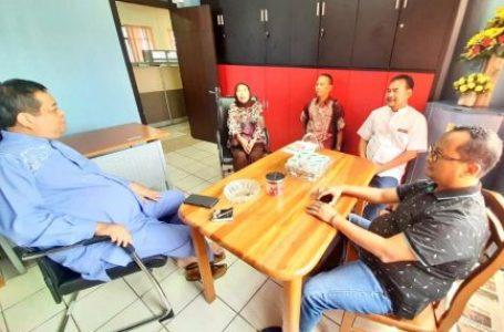 Sebelum Gelar In House Training, Tim Penguji UKW Dari UPN Silaturahmi ke  Pemprov Kepri