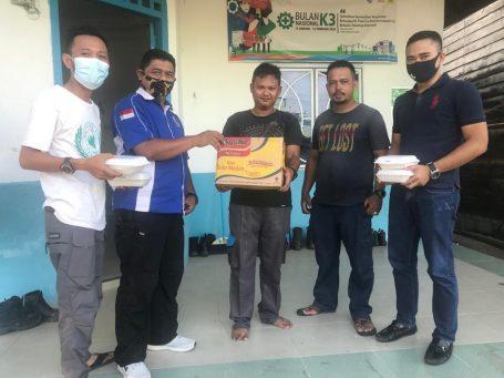 Mengambil Momen Ramadan, PWI Lingga Berikan Perhatian Buat PLN