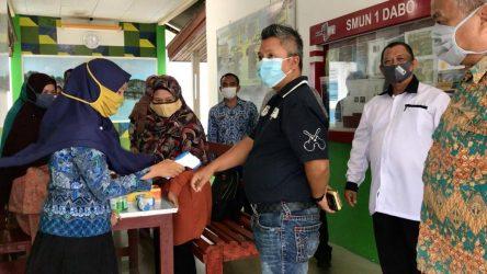 Teddy Jun Askara Lakukan Kunjungan Kerja di 3 Sekolah di Kabupaten Lingga