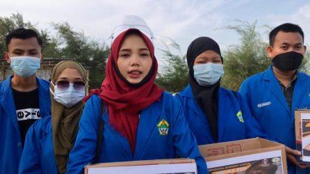 Mahasiswa STIT Lingga Galang Dana Untuk Zio