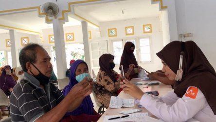 Bantuan Sosial Tunai Tahap ke-7 di Bagikan di Gedung Nasional