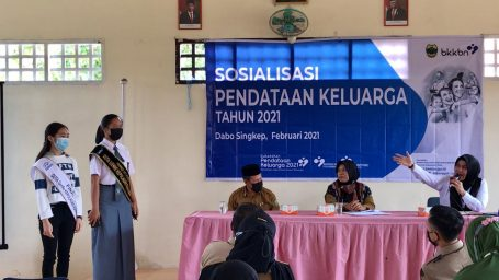 Sosialisasi Pendataan Keluarga Diikuti Camat se-Kabupaten Lingga