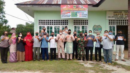 Kelurahan Dabo Gelar Rapat Evaluasi Kegiatan Posko PPKM