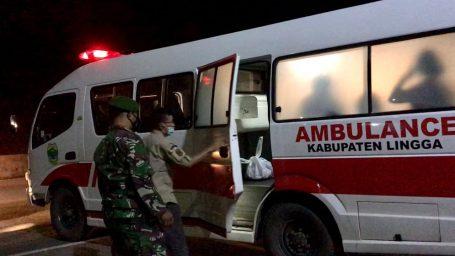 Satu Orang Penumpang Ro-Ro dari Kuala Tungkal Dibawa ke Karantina Terpusat di Dabo