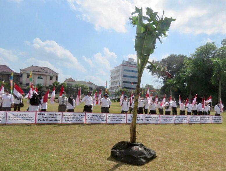 Aksi Keprihatinan Digelar UPN Veteran Yogyakarta