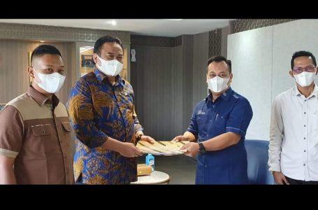 Jemput APBN 2022, Bupati Lingga Temui Wakil Ketua DPR RI