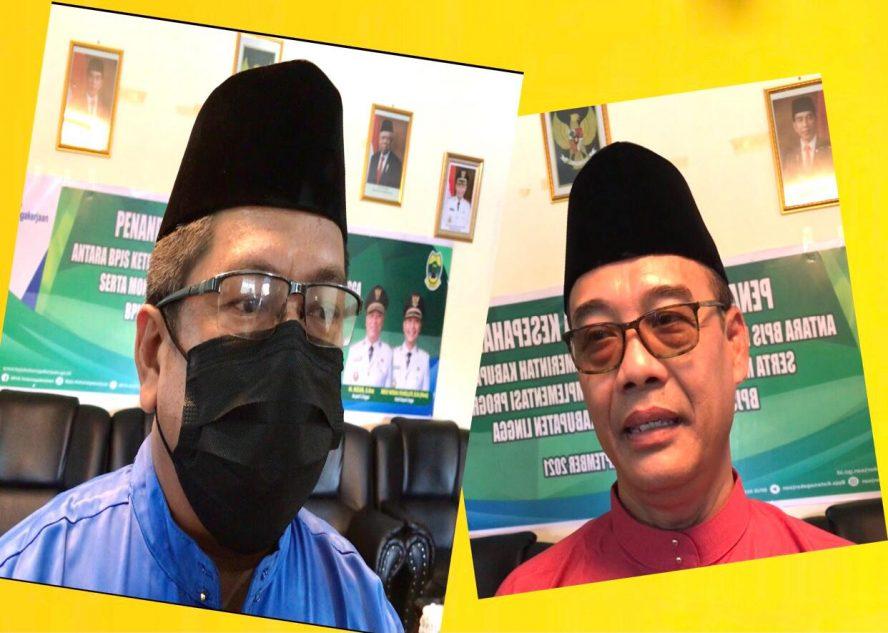 MoU antara BPJS Ketenagakerjaan Cabang Tanjungpinang dan Pemkab Lingga