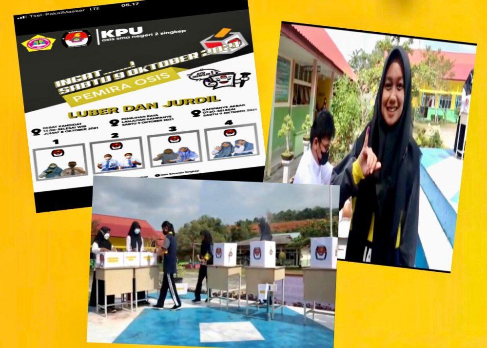 Pemilihan Raya (Pemira) di SMA Negeri 2 Singkep